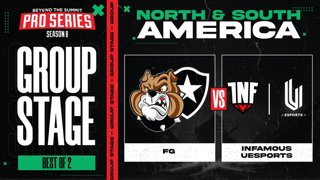 FG vs INF.UESPORTS Game 1 - BTS Pro Series 8 AM: Group Stage w/ rkryptic & neph