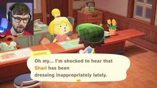 Isabelle's here!