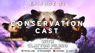 CONSERVATION CAST E. 32 with Clayton Pilbro for Aye-Aye Conservation