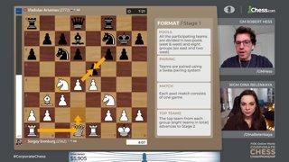 Highlight: Magnus, Giri, Nepo - FIDE World Corporate Championship w/ hosts Hess and Belenkaya | !corpdonate