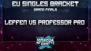 Leffen vs Professor Pro - EU Singles Bracket: GRAND FINALS - Smash Summit 10 | Fox vs Fox