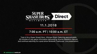 Full Final Smash Direct Reaction
