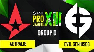 CS:GO - Astralis vs. Evil Geniuses [Inferno] Map 3 - ESL Pro League Season 13 - Group D