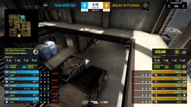 CS:GO- Ninjas in Pyjamas vs. Heretics [Vertigo] Map 3 - ESL One:Road to Rio -  3rd/4th decider - EU