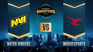 CS:GO - Natus Vincere vs. mousesports [Overpass] Map 1 - DreamHack Masters Spring 2021- Group A