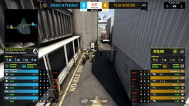 CS:GO- Ninjas in Pyjamas vs. Heretics [Nuke] Map 1 - ESL One:Road to Rio -  3rd/4th decider - EU