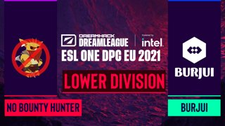 Dota2 - No Bounty Hunter vs. burjui - Game 1 - DreamLeague Season 14 DPC: EU - Lower Division