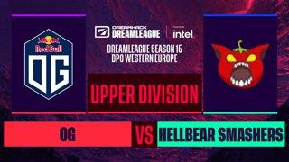 Dota2 - OG vs. Hellbear Smashers - Game 1 - DreamLeague S15 DPC WEU - Upper Division