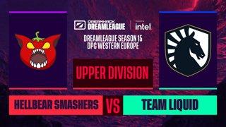 Dota2 - Team Liquid vs. Hellbear Smashers - Game 2 - DreamLeague S15 DPC WEU - Upper Division