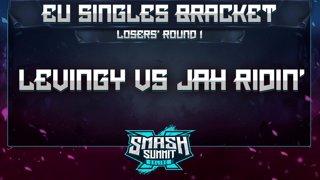 Levingy vs Jah Ridin' - EU Singles Bracket: Losers' Round 1 - Smash Summit 10 | Falco vs Luigi