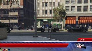 Fleeca Bank Robbery 1st Close Up