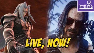 Sephiroth Trailer Review & Cyberpunk The Search For Keanu (12-11) !ads !nzxt