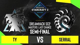 SC2 - TY vs. Serral - DH SC2 Masters 2020: Last Chance 2021 - Semi-final