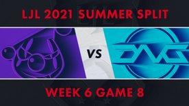 RJ vs DFM LJL 2021 Summer Split Week 6 Game 8