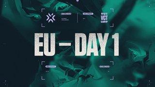 Challengers EU - Week 1 Main Event - Day 1