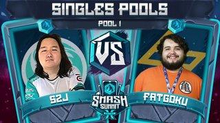 S2J vs FatGoku - Singles Pools: Pool 1 - Smash Summit 10 | Captain Falcon vs Fox