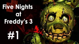 Five Nights at Freddy's 3 | First feel #1