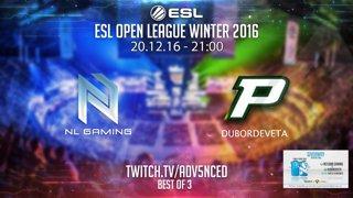 ESL Open League Winter - NetLand Gaming vs Dubordeveta