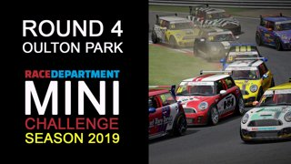 Highlight: 2019 RaceDepartment MINI Challenge by Extreme Simracing | Round 4 - Oulton Park