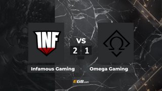 Infamous Gaming vs Ωmega Gaming | BO3 | KillerPigeon & Pajkatt | OMEGA League