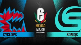 Cyclops vs. Soniqs // Six Major Mexico - group stage - day 2
