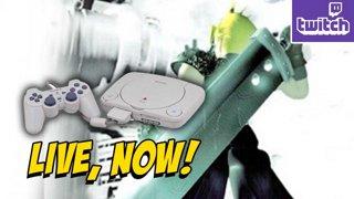 FFVII - The Classic Playthru on a PSOne...Also I'm Sick doodBarf !razer (2-20)