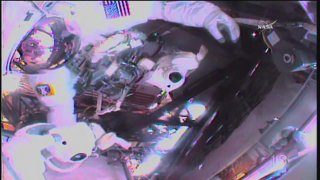 Watch LIVE as Two Astronauts Venture Outside the Space Station for a Spacewalk