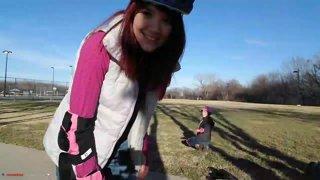 Learning to Skateboard w/ !Emmy