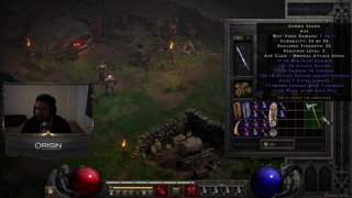 !Diablo 2 Resurrected Alpha - Chat Plats Towelliee First Time Player | !GFUEL 30% OFF !ROOM !STORE |  Follow @towelthetank