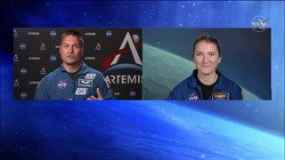 Artemis Astronaut Q&A