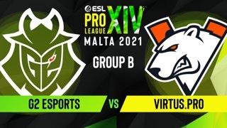 CS:GO - G2 Esports vs. Virtus.pro [Vertigo] Map 3 - ESL Pro League Season 14 - Group B - Part 1