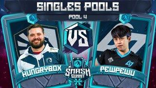 Hungrybox vs PewPewU - Singles Pools: Pool 4 - Smash Summit 10 | Puff vs Marth