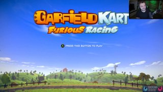 Elajjaz plays: Garfield Kart: Furious Racing