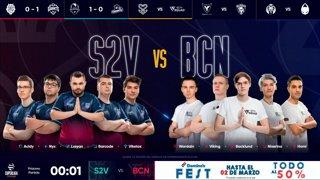 S2V ESPORTS VS BCN SQUAD   Superliga Orange League of Legends   Jornada 13   TEMPORADA 2020