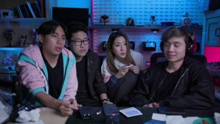 10/10/2019: teatime with the FAP cast (Fuslie, Albert, and Peter)