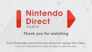 Nintendo Direct 3.3.16