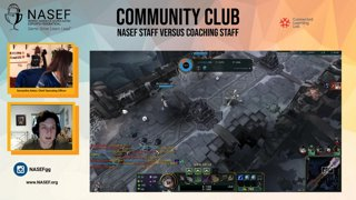 Highlight: NASEF Staff versus Connected Camps Staff: League of Legends Showmatch