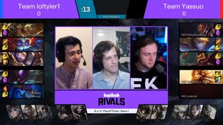 League of Legends Draft Showdown #4 — Playoffs and Redemption Stage