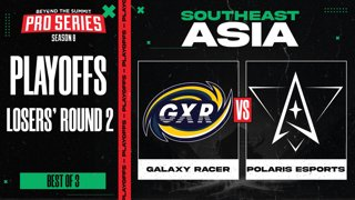 Galaxy Racer vs Polaris Game 2 - BTS Pro Series 8 SEA: Playoffs w/ Ares & Danog