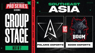 Polaris vs BOOM Game 1 - BTS Pro Series 8 SEA: Group Stage w/ MLP & johnxfire