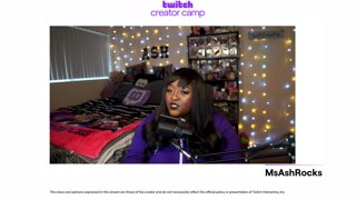 Charity streaming on Twitch with MsAshRocks