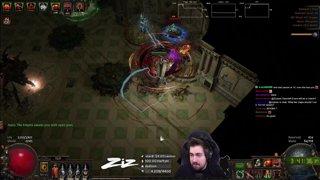 Zizaran - Path of Exile - Ritual - Champion RiP to desync in Lab