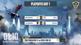 🔴 Playoffs Day 1 Fnatic vs Neon Esports (0-0) w/ Lyrical and WinteR #ONEDota2
