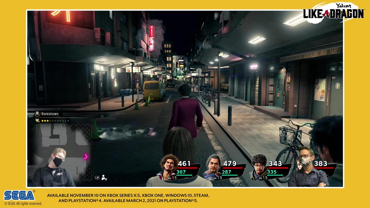 Sega Streams Yakuza Like A Dragon Gameplay Rpgamer