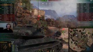 WoT Moments #35: T-57 Heavy vs BatChat 25t