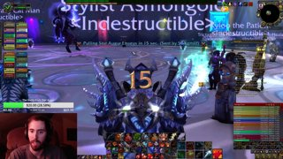 Getting the Rank 1 Parse on Mythic Star Augur
