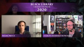 Black Library Character Week 2020: An Interview with Aaron Dembski-Bowden