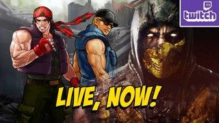 LOTTA STUFF! New KOF15 Trailer, MKX Rivals Event UPDATE & MKX Later (5-19) !RivalsMKX !ads !nzxt