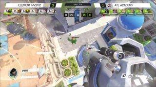 Overwatch Contenders Gauntlet ㅣFinalsㅣLoser Bracket Final ㅣRunaway vs ATL Academy