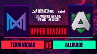 Dota2 - Alliance vs. Team Nigma - Game 2 - DreamLeague S15 DPC WEU - Upper Division